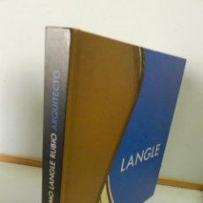 Libros de segunda mano: GUILLERMO LANGLE RUBIO, ARQUITECTO DE ALMERÍA (1895-1981) TAPA DURA LIBRO ARQUITECTURA. Lote 130886440