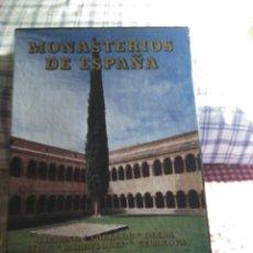 Libros de segunda mano: MONASTERIOS DE ESPAÑA, EVEREST 1992. Lote 131914429