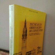 Libros de segunda mano: TÉCNICAS EN ORDENACIÓN DE CONJUNTOS HISTÓRICOS ARTÍSTICOS - GABRIEL COLLADO. Lote 133004966