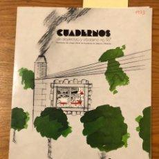 Libros de segunda mano: CUADERNOS COACB--ANUARIO 1973(53€). Lote 134107358