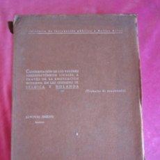 Libros de segunda mano: LOS VALORES ARQUITECTONICOS BELGICA Y HOLANDA ALFONSO JIMENO ARQUITECTO PRECIOSAS ILUSTRACIONES. Lote 134266742