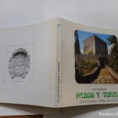 Libros de segunda mano: INVENTARIO PAZOS Y TORRES. PONTEVEDRA Y TIERRA DE MONTES. Nº7 Y90269. Lote 134380318