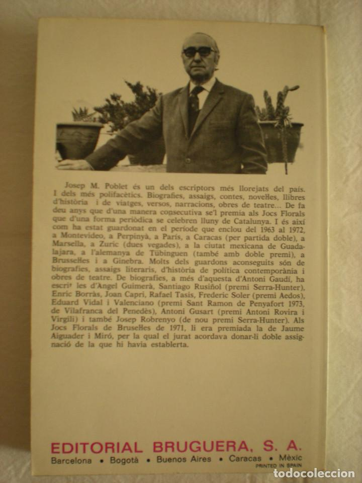 Libros de segunda mano: Gaudí: LHome i el Geni (Bruguera) - Foto 2 - 134400642