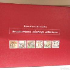 Libros de segunda mano: ARQUITECTURA SOLARIEGA ASTURIANA,EFREN GARCIA,SEDES. Lote 134974639