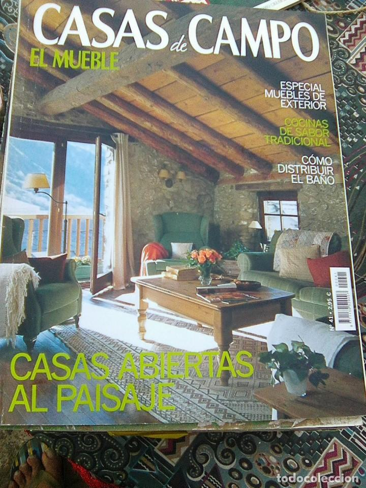 Revista casas de campo n 41 el mueble comprar - Casas de campo el mueble ...