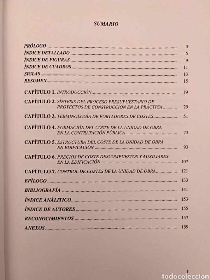 Libros de segunda mano: El proceso presupuestario en proyectos de construcción - Foto 4 - 136896332