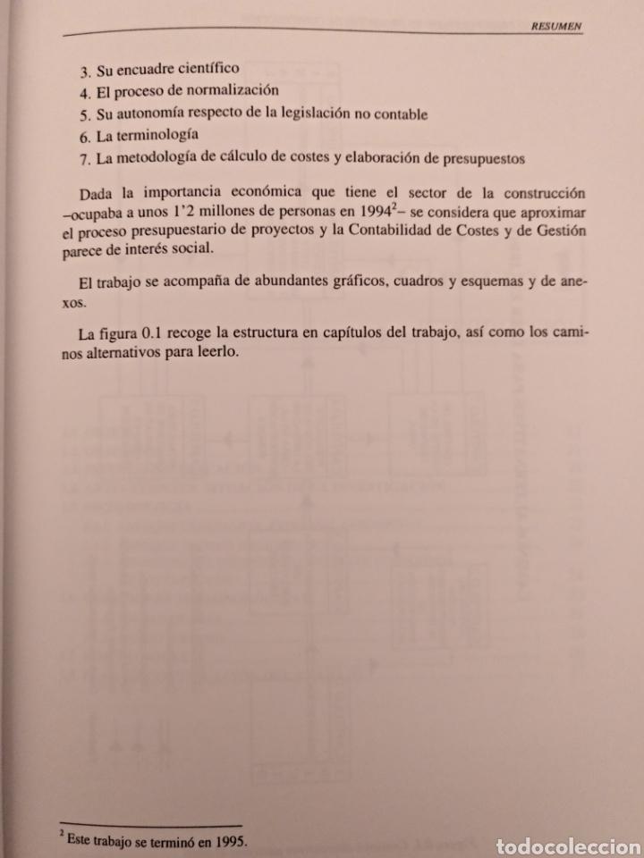 Libros de segunda mano: El proceso presupuestario en proyectos de construcción - Foto 7 - 136896332