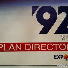 Libros de segunda mano: PLAN DIRECTOR EXPO´92 SEVILLA. Lote 137594270