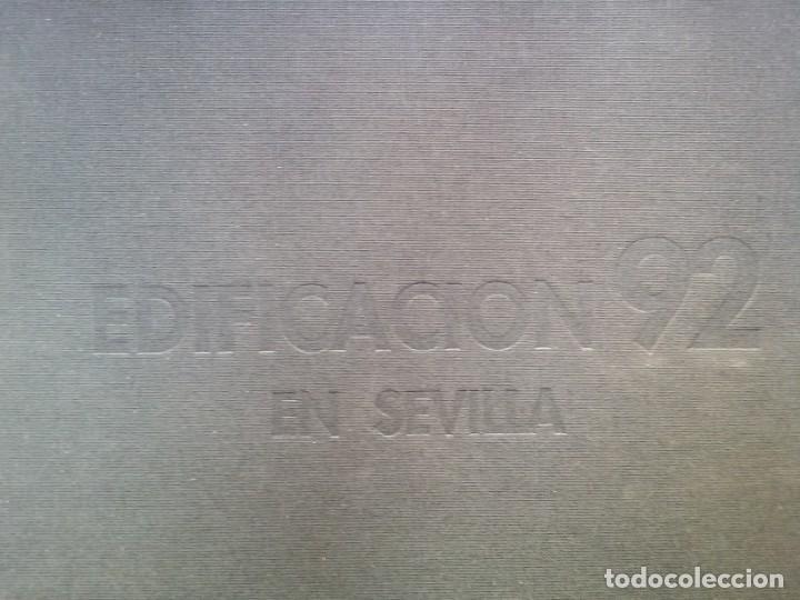 Libros de segunda mano: EDIFICACIÓN EN SEVILLA 92. ESCUELA UNIV DE ARQUITECTURA TECNICA SEVILLA 1992 - Foto 17 - 137594970