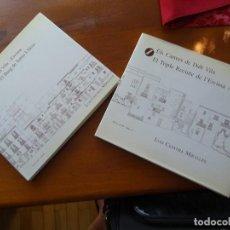 Libros de segunda mano: IBIZA, ESPAÑOL, CATALÁN, ELS CARRERS DALT VILA, LUIS CERVERA MIRALLES, RECINTE ARAB, VILA NOVA. Lote 138942322