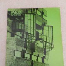 Libros de segunda mano: NUEVA FORMA 86 REVISTA ARQUITECTURA MARTORELL, BOHÍGAS Y MACKAY- MARZO 1973. Lote 123431943