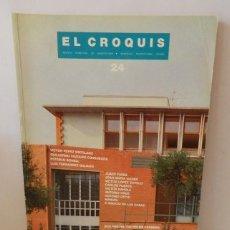 Libros de segunda mano: REVISTA EL CROQUIS Nº 24 1986 ARQUITECTURA DESCATALOGADA. Lote 277689933