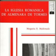 Libros de segunda mano: LA IGLESIA ROMÁNICA DE ALMENARA DE TORMES - MARGARITA R. MALDONADO. Lote 139856710