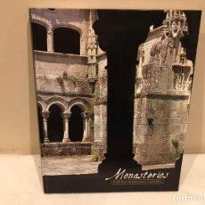 Libros de segunda mano: MONASTERIOS - EDICIONES RUEDA - LIBRO ILUSTRADO - 207 PAG - 16 FOTOS. Lote 140141234