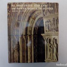 Libros de segunda mano: LIBRERIA GHOTICA. EDUARD JUNYENT. EL MONESTIR ROMANIC DE SANTA MARIA DE RIPOLL.1975.ILUSTRADO.. Lote 140173158