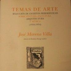Libros de segunda mano: TEMAS DE ARTE SELECCIÓN DE ESCRITOS PERIODÍSTICOS, SOBRE PINTURA, ESCULTURA, ARQUITECTURA Y MUSICA. Lote 140522190