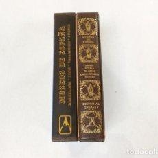 Libros de segunda mano: MUSEOS DE ESPAÑA, DOS TOMOS NUEVOS PLASTIFICADOS A ESTRENAR, ARQUITECTURA, EDITORIAL EVEREST, VV.AA. Lote 140562310