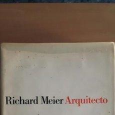 Libros de segunda mano: RICHARD MEIER ARQUITECTO EDITORIAL GUSTAVO GILI. Lote 141310598