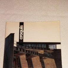 Libros de segunda mano: REVISTA DE ARQUITECTURA EL CROQUIS. Lote 141712190
