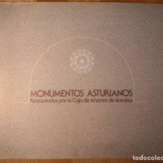 Libros de segunda mano: MONUMENTOS ASTURIANOS RESTAURADOS POR LA CAJA DE AHORROS DE ASTURIAS. 1978. Lote 142442526