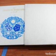 Libros de segunda mano: EL PARQUE DE MARIA LUISA, MANUEL GARCIA MARTIN, EDICION DE LUJO CON CAJA GAS NATURAL 1992 367 PAG. Lote 143174374