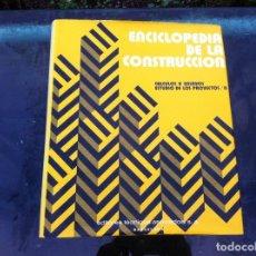 Libros de segunda mano: ENCICLOPEDIA DE LA CONSTRUCCIÓN. CÁLCULOS Y ENSAYOS. ESTUDIO DE LOS PROYECTOS/ 2. EDITORES TÉCNICOS.. Lote 143176110