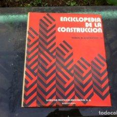 Libros de segunda mano: ENCICLOPEDIA DE LA CONSTRUCCIÓN. TÉCNICAS DE CONSTRUCCIÓN / III.ED. EDITORES TÉCNICOS.ASOCIADOS 1978. Lote 143176378