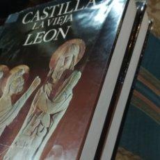 Libros de segunda mano: CASTILLA LA VIEJA Y LEÓN, 2 TOMOS. EDITORIAL NOGUER, PRIMERA EDICIÓN, 1971. Lote 143178760