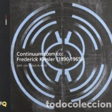 Libros de segunda mano: CONTÍNUUM CÓSMICO FREDERICK KIESLER 1890 1965 / ARQUÍTHEMAS / NUEVO / JOSÉ LUIS LUQUE BLANCO. Lote 143329498