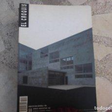 Libros de segunda mano: CROQUIS Nº 55/56,1992,EPIFANIAS DE LA MODERNIDAD, . Lote 143565342