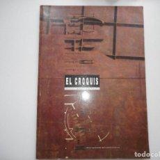 Libros de segunda mano: EL CROQUIS. DE ARQUITECTURA Y DISEÑO Y91520. Lote 144100306
