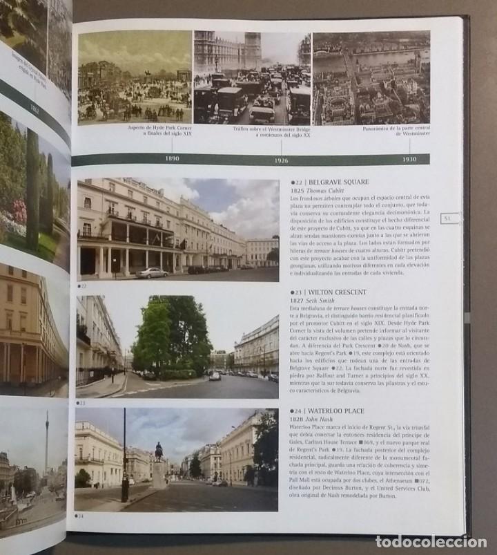 Libros de segunda mano: Londres. Atlas histórico de arquitectura. Alejandro Bahamón. Parramón 2006. A color. Desplegables!! - Foto 3 - 144284770
