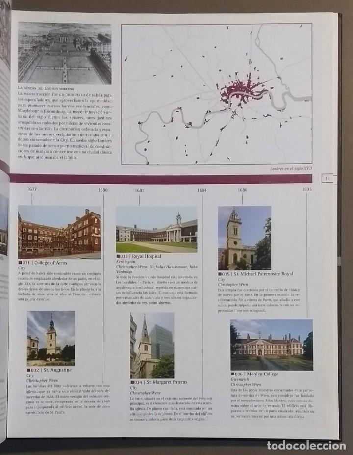 Libros de segunda mano: Londres. Atlas histórico de arquitectura. Alejandro Bahamón. Parramón 2006. A color. Desplegables!! - Foto 4 - 144284770