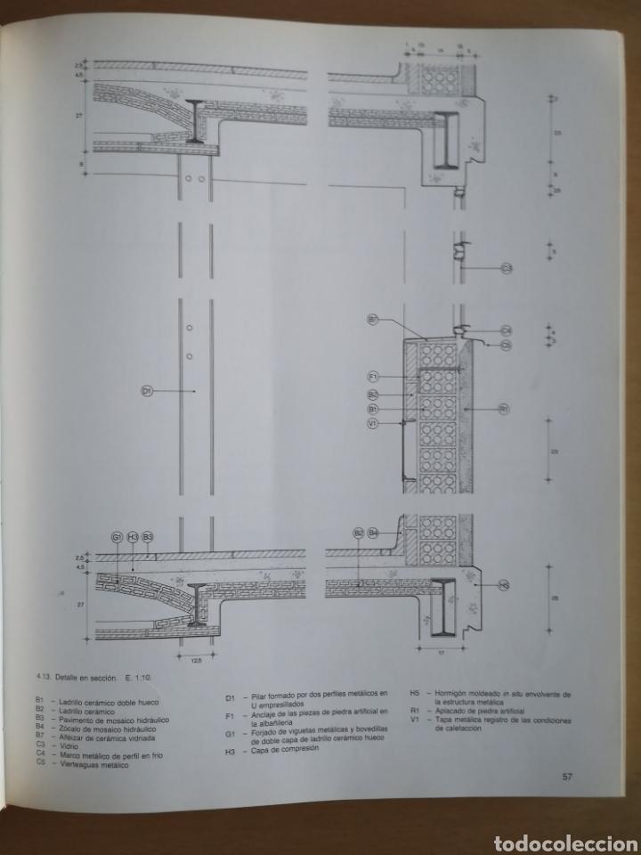 Libros de segunda mano: JOSEP LLUÍS SERT - CONSTRUCCIÓN Y ARQUITECTURA - - Foto 4 - 144425514