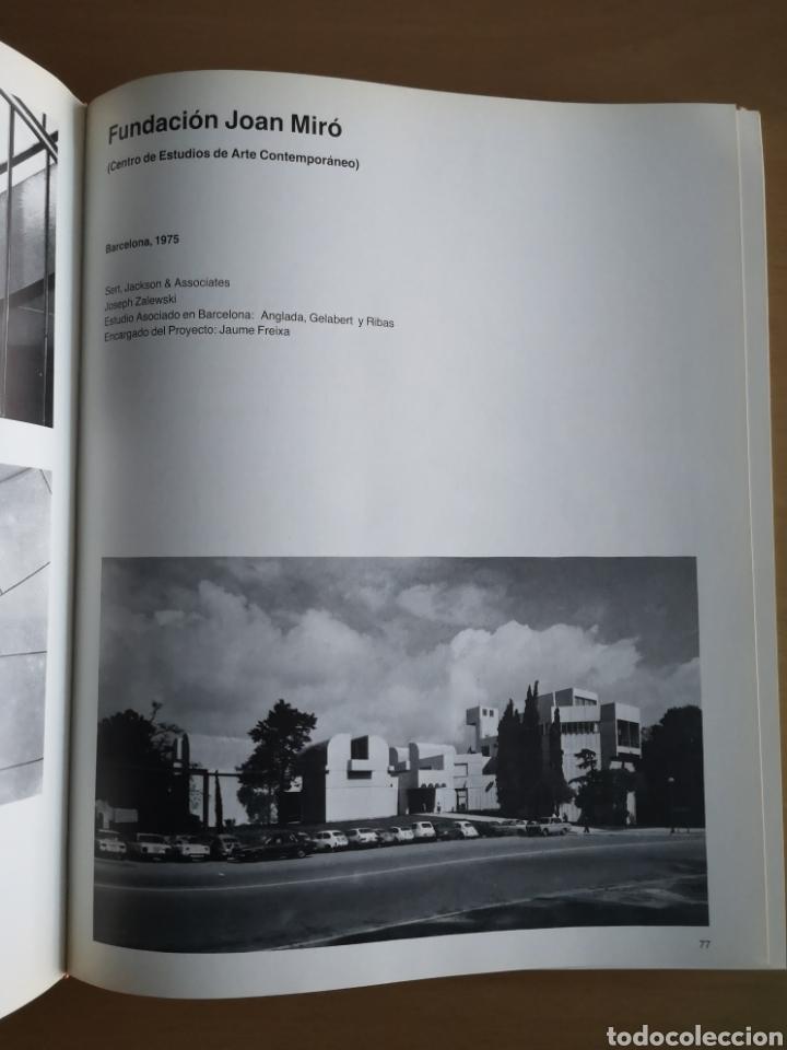 Libros de segunda mano: JOSEP LLUÍS SERT - CONSTRUCCIÓN Y ARQUITECTURA - - Foto 5 - 144425514