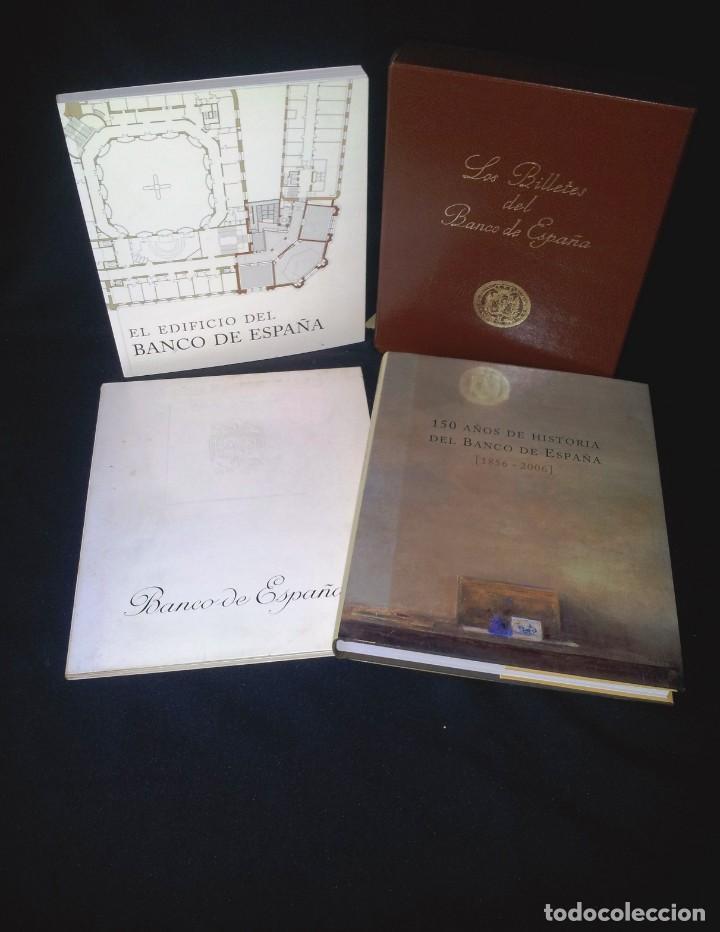 COLECCIÓN BANCO DE ESPAÑA - 4 LIBROS DIFERENTES - VER DESCRIPCION (Libros de Segunda Mano - Bellas artes, ocio y coleccionismo - Arquitectura)