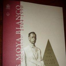Libros de segunda mano: LUIS MOYA BLANCO, ARQUITECTO, 2000, MINISTERIO FOMENTO,INVITACION MINISTERIO, RUSTICA SOLAPA, 179PP. Lote 144888018