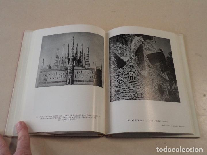 Libros de segunda mano: EL ARTE DE GAUDÍ - JUAN EDUARDO CIRLOT - EDICIONES OMEGA - Foto 3 - 144977978