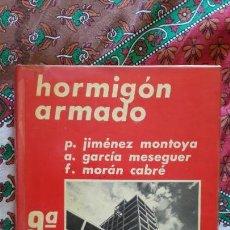Libros de segunda mano: HORMIGON ARMADO. TOMOS I Y II. JIMENEZ MONTOYA Y OTROS. EDIT. GUSTAVO GILI. 1974. Lote 145375222