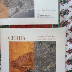 Libros de segunda mano: CERDA, CIUDAD Y TERRITORIO. UNA VISION DE FUTURO. VV. AA.. Lote 145385306