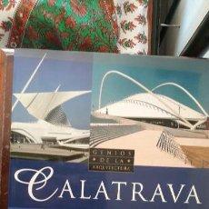 Libros de segunda mano: CALATRAVA - GENIOS DE LA ARQUITECTURA - SUSAETA. Lote 145387386