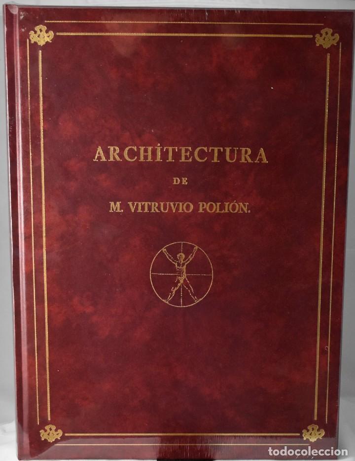 FACSÏMIL: ARCHITECTURA DE M. VITRUVIO POLIÓN. LOS DÍEZ LIBRO DE ARQUITECTURA DE VITRUBIO (Libros de Segunda Mano - Bellas artes, ocio y coleccionismo - Arquitectura)