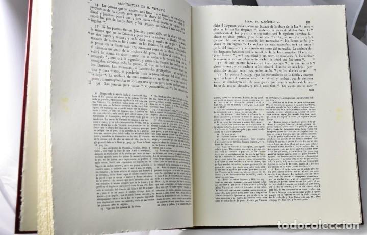 Libros de segunda mano: FACSÏMIL: Architectura de M. Vitruvio Polión. Los díez libro de Arquitectura de Vitrubio - Foto 3 - 146162970