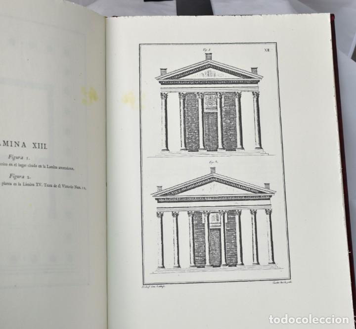 Libros de segunda mano: FACSÏMIL: Architectura de M. Vitruvio Polión. Los díez libro de Arquitectura de Vitrubio - Foto 5 - 146162970