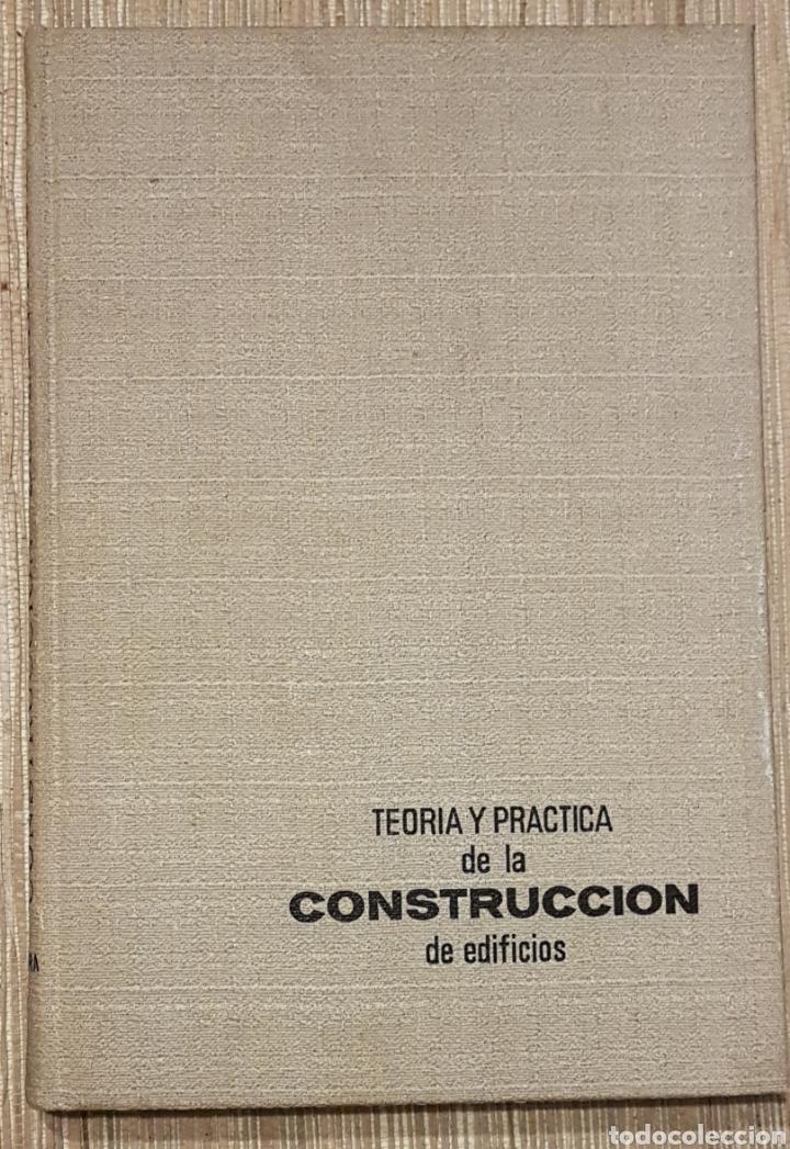 TEORIA Y PRACTICA DE LA CONSTRUCCION DE EDIFICIOS POR MARTIN MITTAG DE 1967 (Libros de Segunda Mano - Bellas artes, ocio y coleccionismo - Arquitectura)