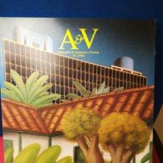 Libros de segunda mano: REVISTA AV MONOGRAFIAS ARQUITECTURA Y VIVIENDA V&A NÚMERO 13 AMÉRICA SUR 1988. Lote 147901402