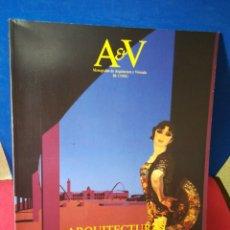 Libros de segunda mano: REVISTA AV MONOGRAFIAS ARQUITECTURA Y VIVIENDA V&A NÚMERO 16 ARQUITECTURAS IMPORTADAS 1988. Lote 147903421