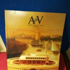 Libros de segunda mano: REVISTA AV MONOGRAFIAS ARQUITECTURA Y VIVIENDA V&A NÚMERO 20 SEVILLA 1992 - 1989. Lote 147904134