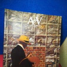 Libros de segunda mano: REVISTA AV MONOGRAFIAS ARQUITECTURA Y VIVIENDA V&A NÚMERO 43 CONSTRUCCIONES CLOTET Y PARICIO 1993. Lote 147914186