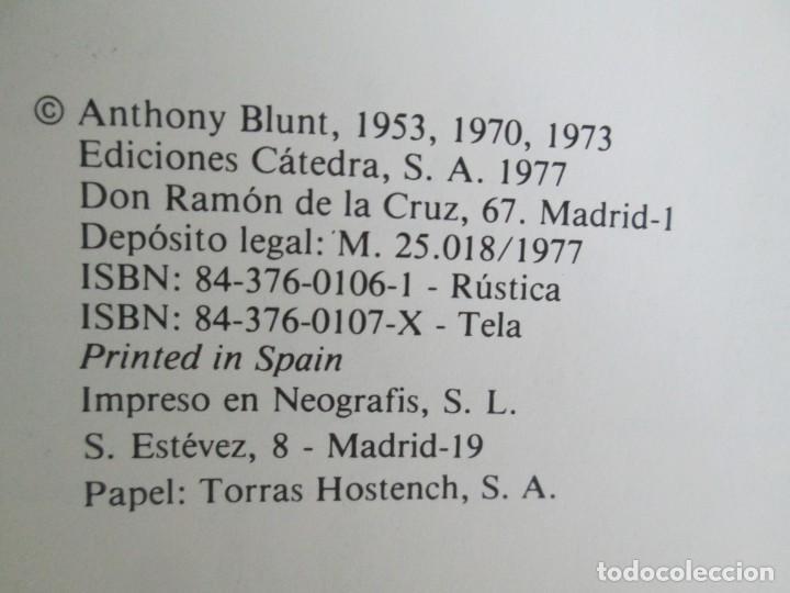 Libros de segunda mano: ANTHONY BLUNT. ARTE Y ARQUITECTURA EN FRANCIA 1500-1700. ARTE CATEDRA. 1977. VER FOTOS - Foto 8 - 148208490
